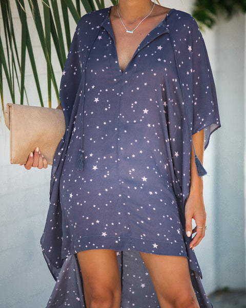 Among The Stars High Low Statement Dress - FINAL SALE