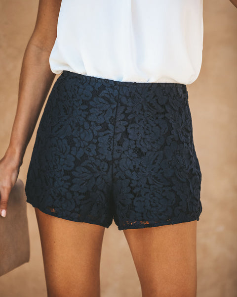 Some Nights Lace Shorts
