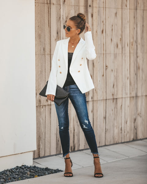 Insignia Double Breasted Blazer