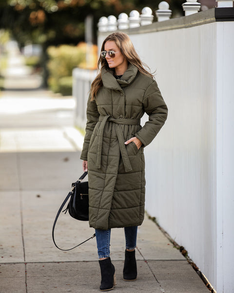 Better Bundle Up Pocketed Puffer Coat - FINAL SALE
