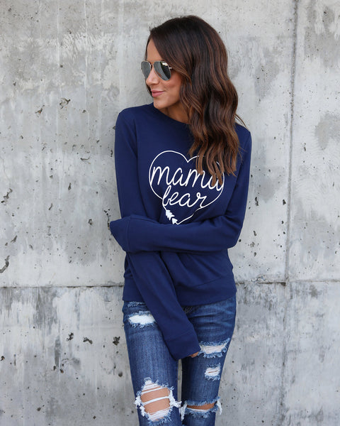 Mama Bear Cotton Sweatshirt