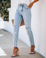Echo High Rise Vintage Denim view 6