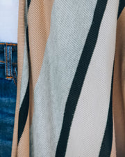 Chanice Cotton Blend Striped Knit Duster - FINAL SALE view 4