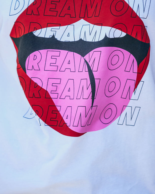 Keep Dreaming Cotton Lips Tee view 5