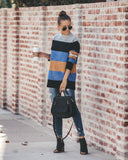 Just In Time Knit Striped Sweater