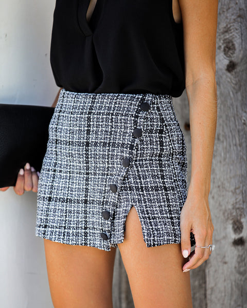 Gossip Girl Tweed Skort - FINAL SALE