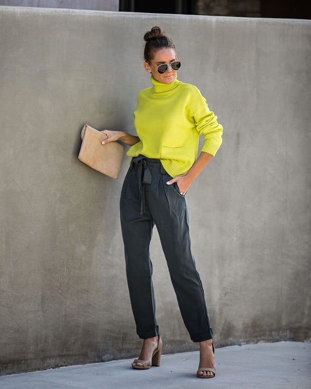 Gracious Pocketed Tencel Pants - FINAL SALE