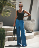 Chill Pill Wide Leg Tencel Pants