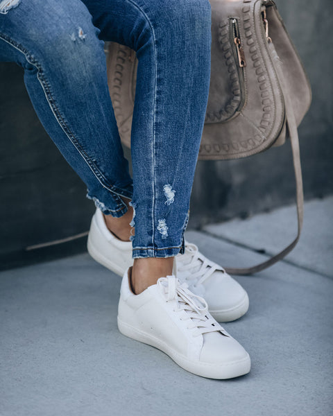 Sky Full Of Stars Faux Leather Sneakers