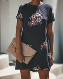 Giana Floral Shift Dress