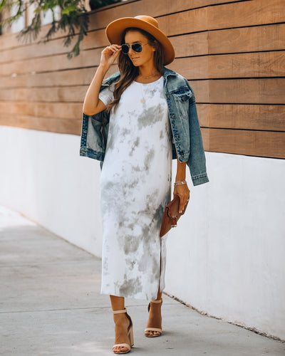 Flagstaff Tie Dye Knit Midi Dress