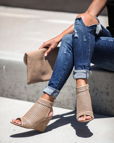 Saint Tropez Perforated Wedge