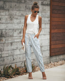 Quidnet Cotton Pocketed Pants - FINAL SALE