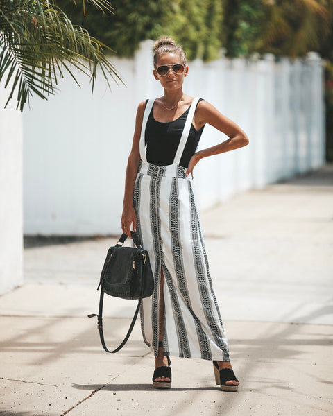 Danica Button Down Maxi Skirt
