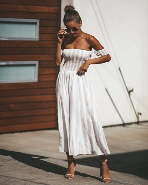 Breezin' Through Ruched Jumpsuit