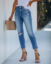 Hayden High Rise Crop Denim