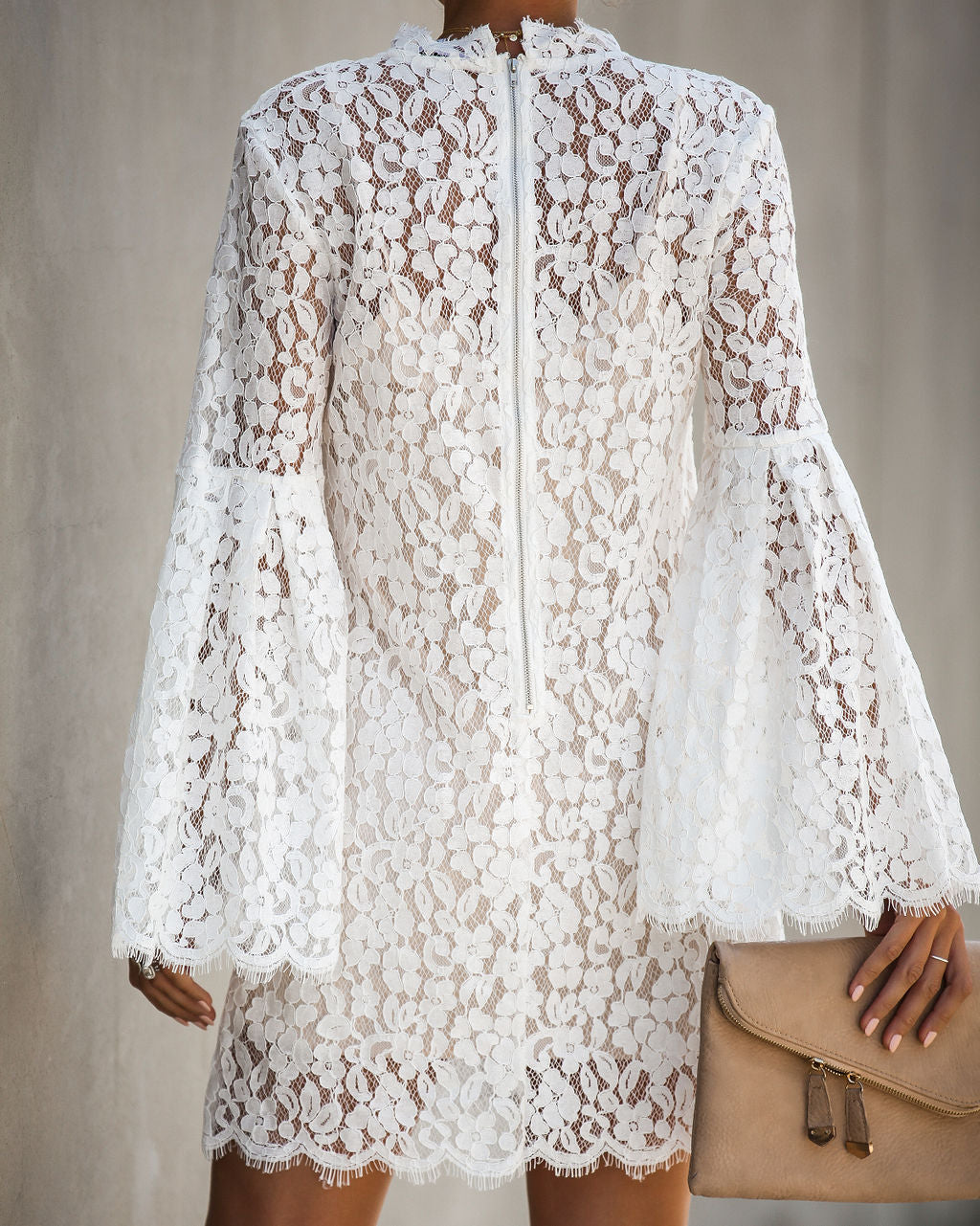 04e6c562407 Fit For A Queen Lace Dress - Off White – VICI