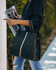 Royce Tote Bag - Black
