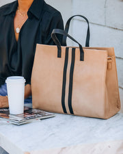 Royce Tote Bag - Natural