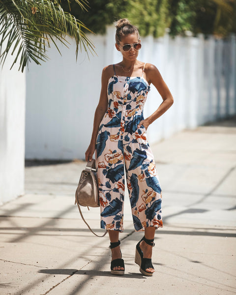Miami Muse Pocketed Jumpsuit
