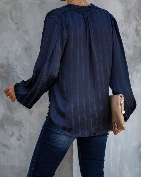 Desmond Satin Twist Blouse