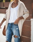 By The Book Knit Cardigan - Oatmeal