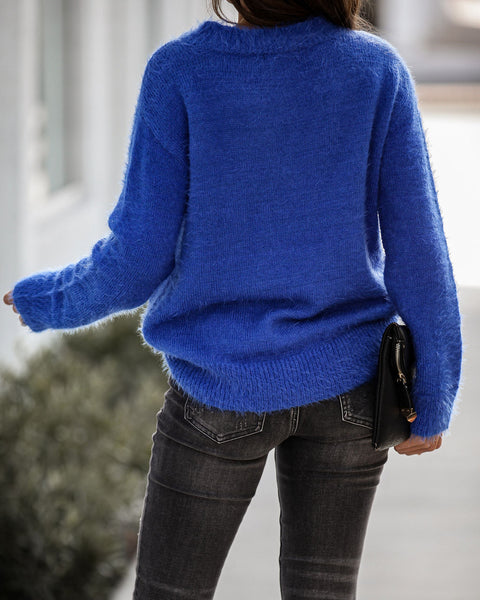Abominable Fuzzy Knit Sweater - FINAL SALE