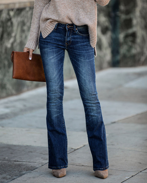 Taylor Mid Rise Bootcut Denim