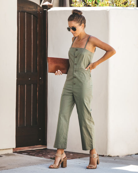 Magnum Cotton Pocketed Jumpsuit