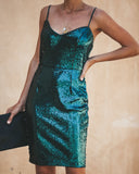 Ariel Sequin Dress