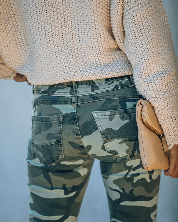 Jason Cotton Pocketed Camo Skinny