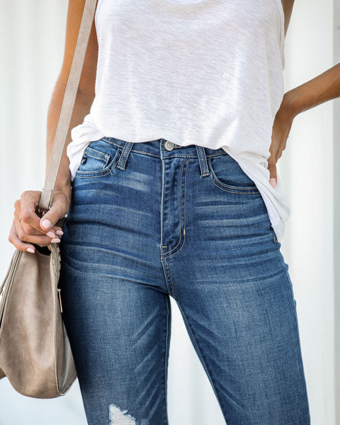 Lambert High Rise Distressed Skinny - FINAL SALE