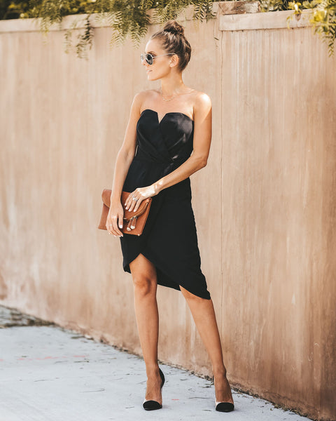 Own The Night Sweetheart Strapless Dress