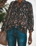 Always In Bloom Floral Blouse
