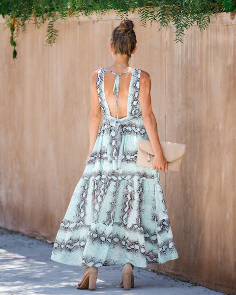 Move Like Mamba Ruffle Tiered Dress - FINAL SALE