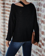 Hopelyn Cutout Knit Sweater - FINAL SALE