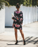 Lovely Me Floral Shift Dress