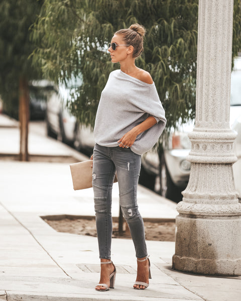 Limelight Piped Frayed Skinnies
