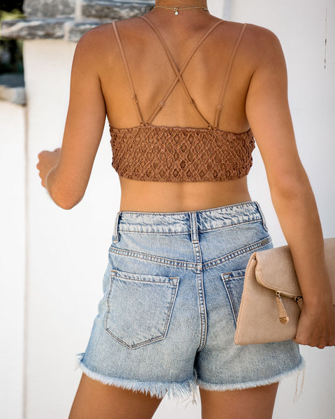 Crush On You Lace Bralette - Ginger