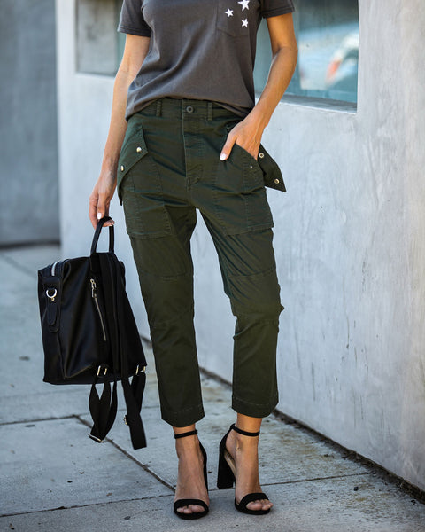 Sanctuary Cotton Pocketed Utility Pants - FINAL SALE