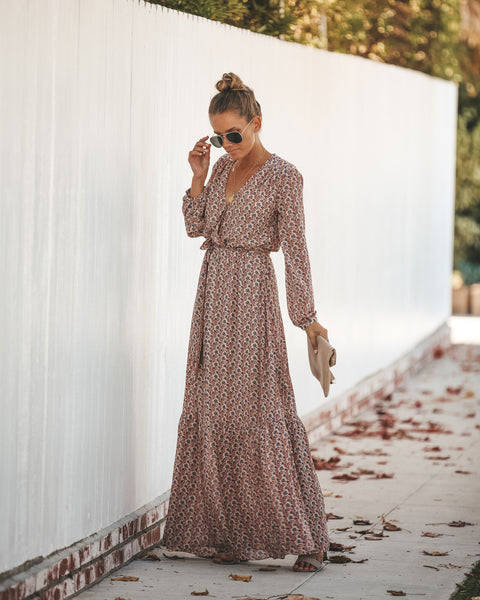 Unconditionally Floral Maxi Dress