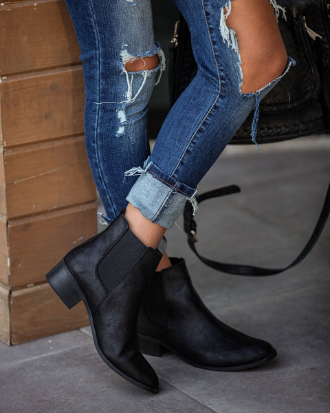 Closet Staple Heeled Bootie