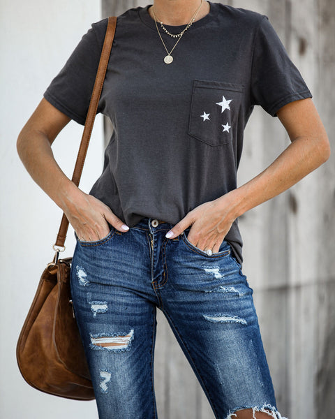 Wow Factor Cotton Pocket Tee