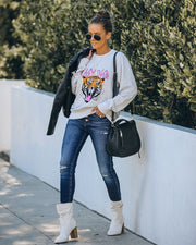 Animated Easy Tiger Cotton Blend Sweatshirt