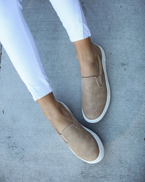 Westley Perforated Slip-On Sneakers