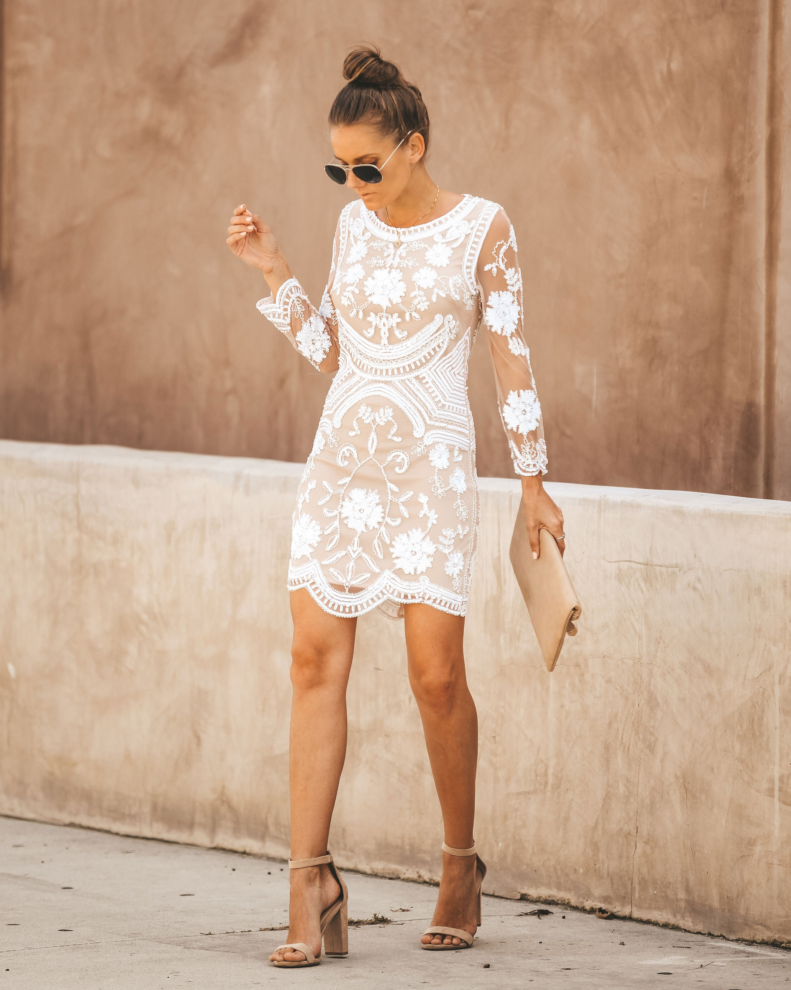 Detail Product. ← Home - BRIDAL - Nuptials Embellished Lace Bodycon Dress b622684cb