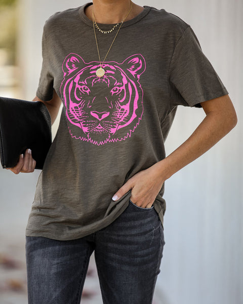 Bengie Cotton Tiger Tee
