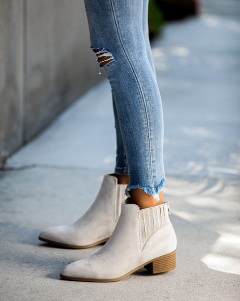 Dolce Faux Suede Bootie