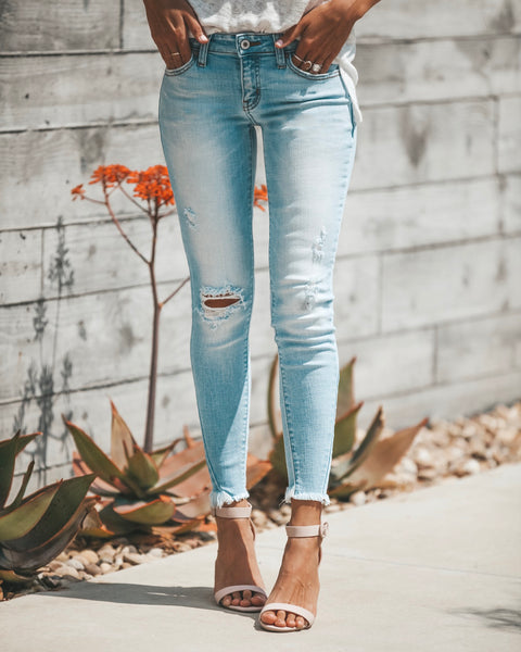 Molly Frayed Ankle Skinny