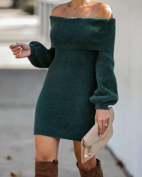 Snow Place Like Home Sweater Dress - FINAL SALE